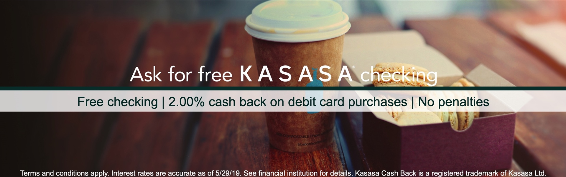 Kasasa® Cash Back